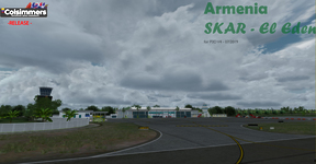 FSX Colombia commercial sceneries