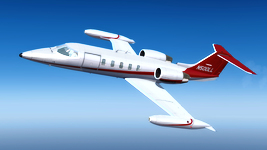 Flysimware Learjet 35A repaint list