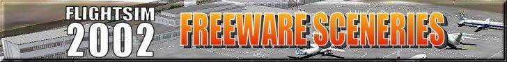 FS2002 freeware sceneries logo
