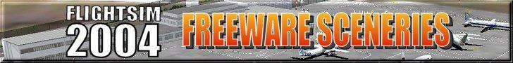 FS2004 freeware sceneries logo